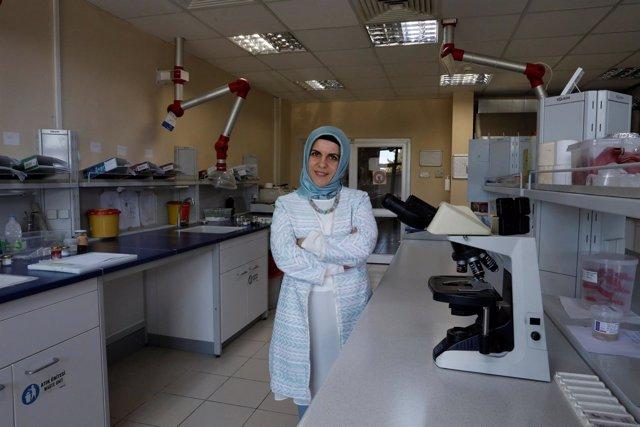 Investigadora en Turquía