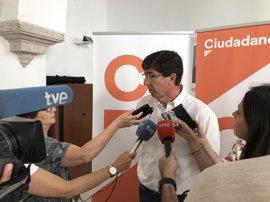 Marín aclara que Cs no votó a favor de crear un Comisionado de la Memoria y que rechazarán cambiar la ley si se propone
