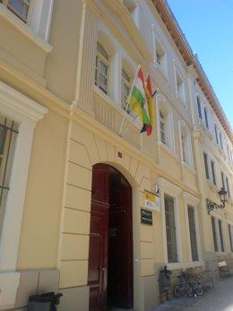 Fachada Biblioteca de La Rioja