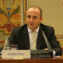 Ministro de Industria, Miguel Sebastián, comparece en el Congreso