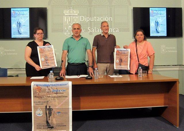 Salamanca: Presentación De La Carrera De Coca De Alba