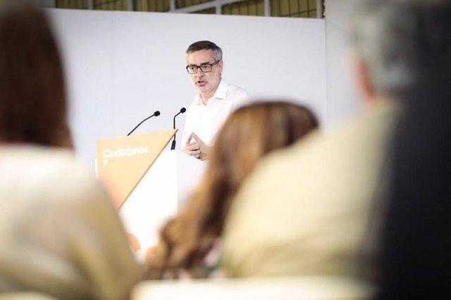 José Manuel Villegas celebra los dos años de Cs en la Asamblea de Madrid