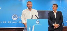 """PP tacha de """"frescos"""" a Tovar y Urralburu """"por dar cobijo al imputado José López en el Ayuntamiento de Cartagena"""""""
