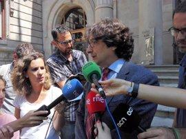 """David Pérez (PSC) dice que el fallo del TC era """"clarísimo"""" para frenar resoluciones soberanistas"""