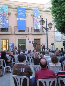 El IEA vuelve a organizar actividades en la Plaza Julio Alfredo Egea.