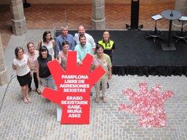 Pamplona lanza una campaña contra las agresiones sexistas en las fiestas de San Fermín