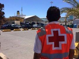 Cruz Roja pone en marcha su dispositivo en Almería con motivo de la OPE