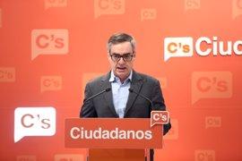 Ciudadanos espera que los diputados valencianos que han dejado el partido no voten con el tripartito