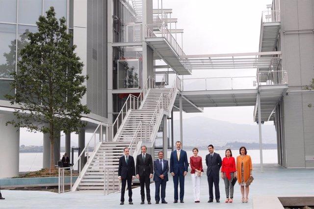 Inauguración del Centro Botín, presidida por los Reyes