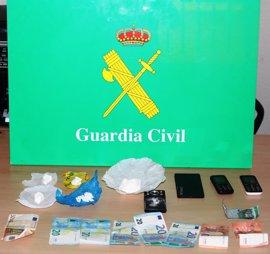 Detenido un grupo criminal dedicado al tráfico de cocaína en Arévalo (Ávila)