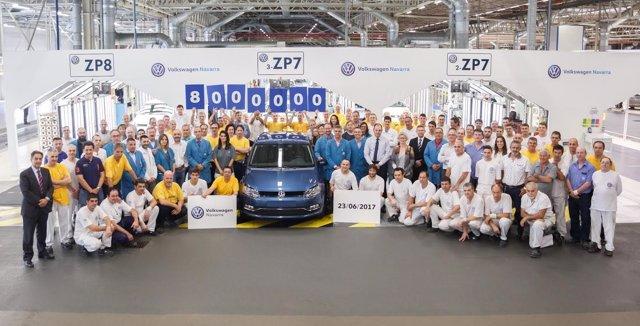 El Volkswagen Polo número 8 millones.
