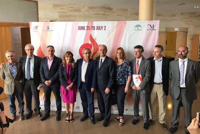 Jornada deporte y trasplantes málaga juegos mundiales trasplantados foto familia