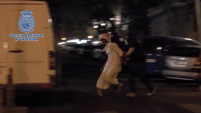 Detienen en Madrid a tres yihadistas