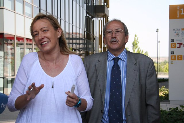 Marta Gastón y Francisco de la Fuente.