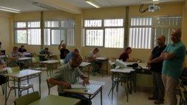 Un total de 1.334 docentes se han presentado en la primer prueba de las oposiones