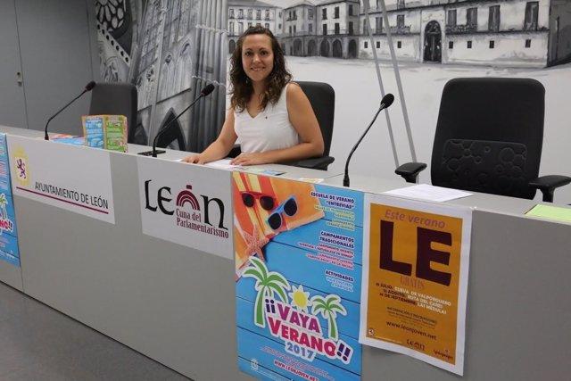 León: La Concejal de Juventud