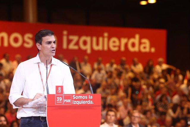 Pedro Sánchez clausura el Congreso del PSOE con su discurso
