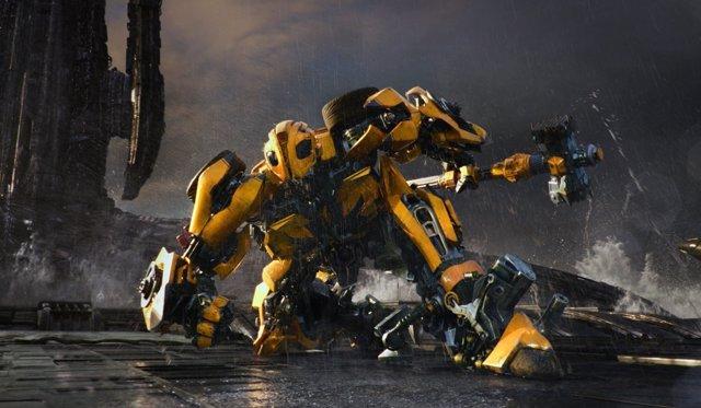 Bumblebee en 'Transformers 5: El último caballero'