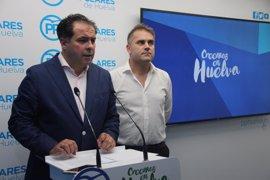 """El PP ve la licitación del Chare de Bollullos como """"un engaño"""" para intentar evitar la moción de censura"""
