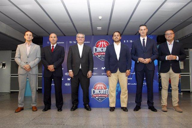 Presentacion del Circuito de Pretemporada Movistar
