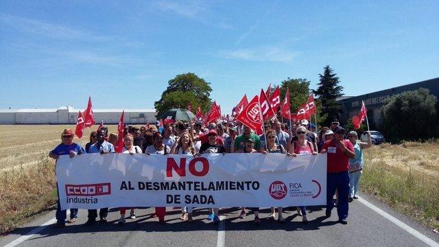 Manifestación Sada