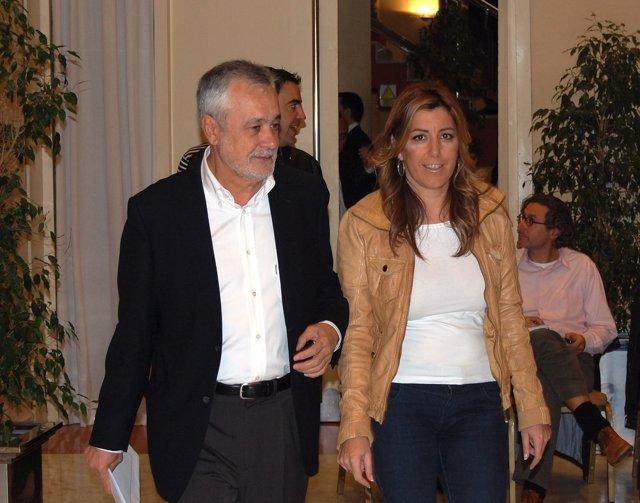 José Antonio Griñán Y Susana Díaz