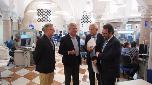 José Enrique Fernández de Moya, Jorge Ramírez, Juan José Primo y Ricardo Ugarte