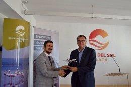 Gerente de Turismo Costa del Sol, Arturo Bernal. Con Turkish