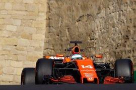 Alonso suma otra estación a su 'via crucis' en Bakú