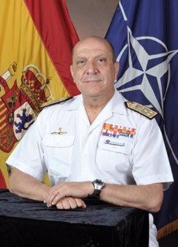 El jefe del Estado Mayor Conjunto, Javier González-Huix