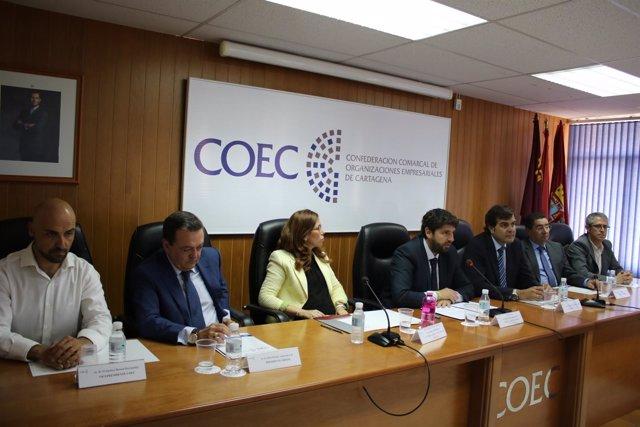 Clausura Asamblea General de COEC