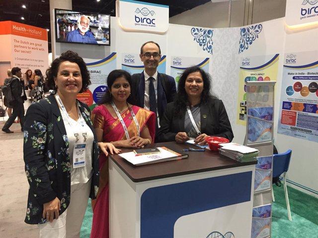 Aizpuru en la Convencio BIO 2017 de San Diego
