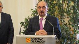 """Lambán califica de """"paso irreversible"""" para la reapertura del Canfranc haber obtenido financiación europea"""