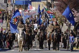 """Bachelet pide """"perdón"""" al pueblo mapuche y presenta un plan de desarrollo para la Araucanía"""