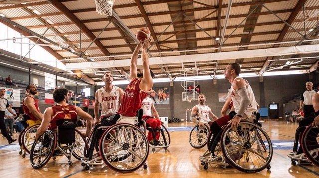 Selección española masculina en silla de ruedas