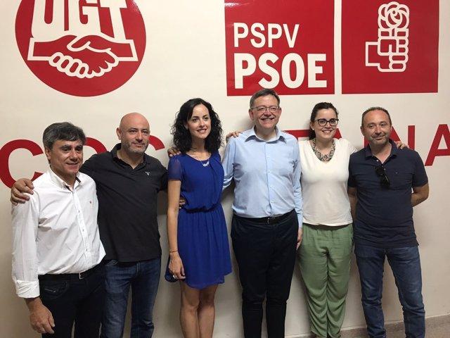 El 'president' en la agrupación socialista de Cocentaina