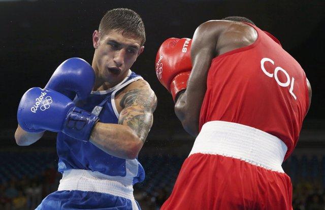 Samuel Carmona cae en los cuartos de final de Río