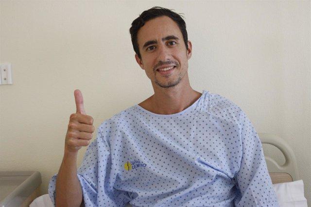 Manuel Olmedo, operado en la Clínica CEMTRO