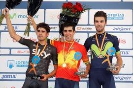 Jonathan Castroviejo se proclama campeón de España de contrarreloj por tercera vez