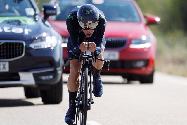 El ciclista español Jonathan Castroviejo