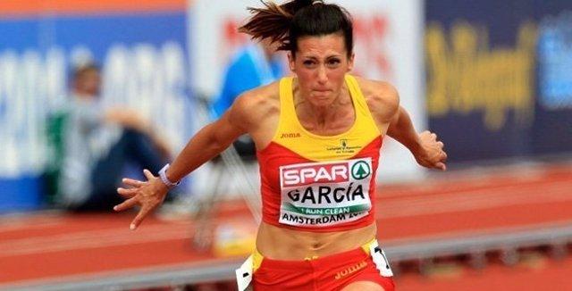 La atleta española Estela García