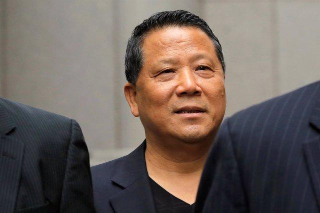 El magnate inmobiliario de Macao Ng Lap Seng.