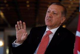 """Erdogan asegura que el Ejército turco """"nunca permitirá la creación de un nuevo Estado en el norte de Siria"""""""
