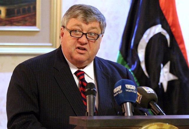 El embajador de EEUU en Libia, Peter Bodde.