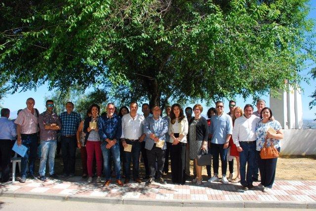 Encuentro Comarcal de Centros de Educación Permanente en Porcuna (Jaén)