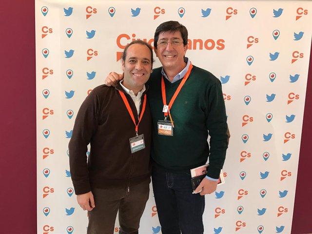 Juan Cassá y Juan Marín, de Ciudadanos