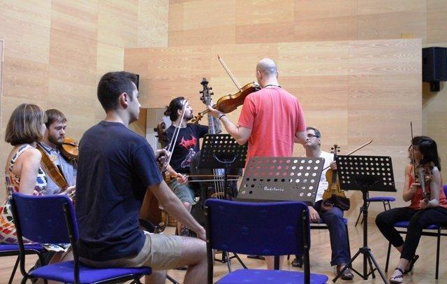 Ensayo de la CordoBaroque Ensemble