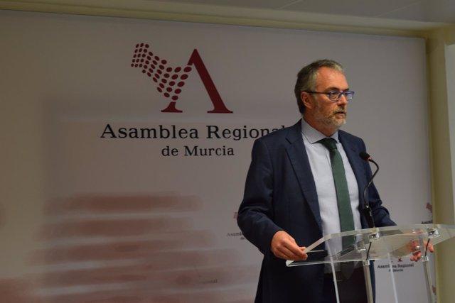 El diputado regional del PP, Domingo Segado