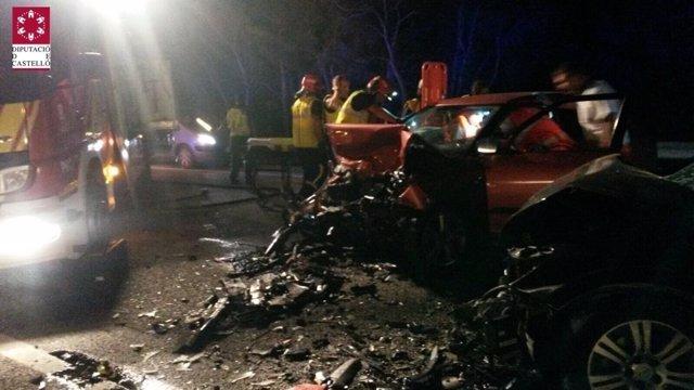 Siniestro en la localidad de Benicàssim con dos heridos