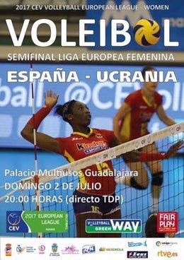 Selección española de voleibol femenino Guadalajara Liga Europea